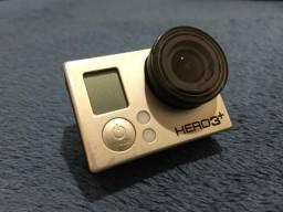 GoPro Hero 3+ em 10x, com vários acessórios (vários novos!)