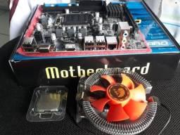 Kit Placa mãe 1155 + Processador I5 + 8gb