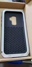 Capinha armadura para S9 plus mais duas capinhas baseus