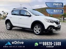 Renault Stepway Zen Flex 1.6 Mecânico - Central Multimídia - 4 Pneus Novos - Novo -  2020