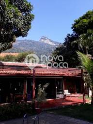 Casa à venda com 5 dormitórios em Cosme velho, Rio de janeiro cod:FL5CS43741
