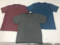 Camiseta Masculina kit 10 peças