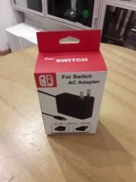 Carregador Nintendo Switch bi volt