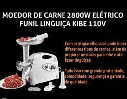 Grande promoção moedor de carne eletrico + balança digital de cozinha kit completo