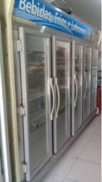 Expositor Refrigerador auto serviço 05 portas