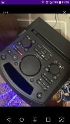 Caixa de som Sony com Bluetooth