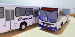 Super miniaturas-Ônibus urbanos