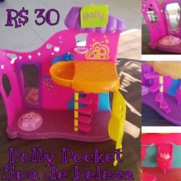 Polly Pocket Spa de beleza - usado. R$30,00
