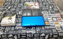 Nintendo 3Ds XL com 14 jogos