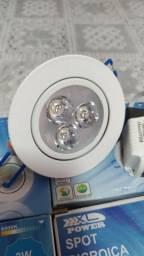 Spot led embutir
