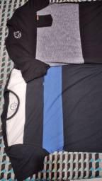 Duas camisas zip náuticos originais