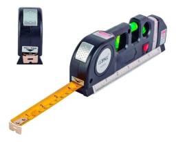 Título do anúncio: Nível Laser Profissional Trena Level 3 Estágios Nivelador - Loja Natan Abreu