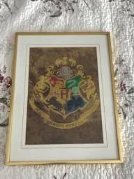 Quadro Harry Potter (símbolo de Hogwarts)