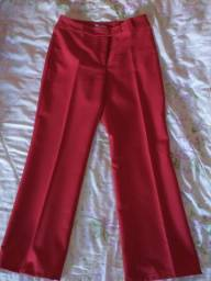 Lote de calças social feminina n 42