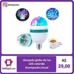 Título do anúncio: Lâmpada Globo de Luz | RGB
