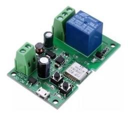 Sonoff Wifi Módulo Relé Dc7v-12v-32v Função Pulso E Travado