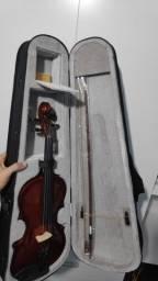 Violino 4/4 Marinos praticamente sem uso