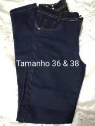 Lote 14 calça jeans feminina