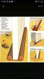 Protetor para portas contra entrada de insetos, areia, folhas, vento