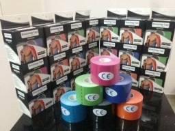 Fita Kinesio Tape Bandagem Elástica Adesiva Atleta