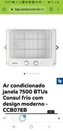Título do anúncio: Ar Condicionado janela 7500 btus Consul