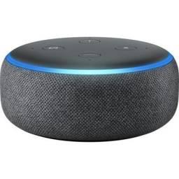 Título do anúncio: Alexa Echo Dot 3 Geraçao Preta<br><br>