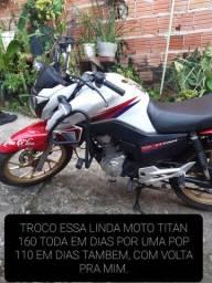 TROCO ESSA LINDA MOTO TITAN 160