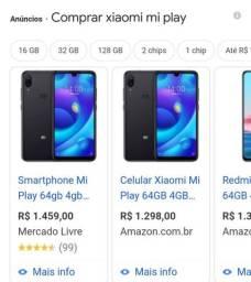 Xiaomi 64/ 4 G DE RAM  800 r$