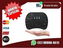 Oferta.boa-entregagratiis-Mini Teclado Sem Fio Com Touchpad Mouse Portatil