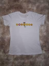 T-shirts femininas /tamanho M