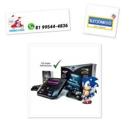 Video Game Mega Game 123 Jogos 246 Versões Classicos só zap
