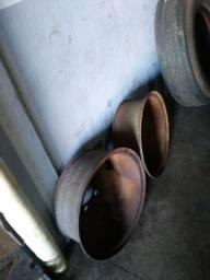3 rodas de 6 furos, chevrollet D70