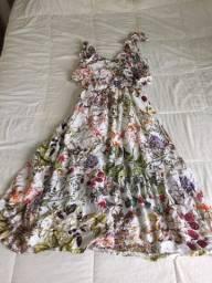Vestido Florido Tamanho GG !!! 30 Reais!!!