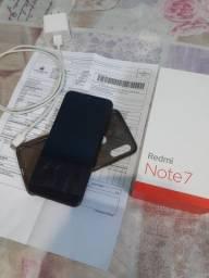 Xiaomi Redmi Note 7 Aceito Cartão (Zerado com Nota Fiscal 64Gb 4Gb 48Mpx)