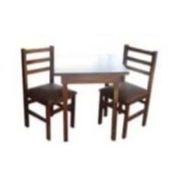 Título do anúncio: conj. mesas c/ 2 cadeiras