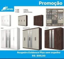roupeiro evidence plus sem espelho promoção!!!