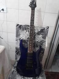 Guitarra Ibanez Gio Floyd Rose Azul Metálico