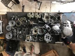 Peças de motor crf 250r carburada