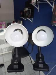 Luminária De Mesa Escritório/leitura Articulada Bivolt E27 Luatek LK-777(house_eletronics)