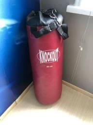 Knockout saco de boxe