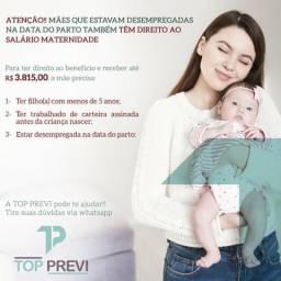 Salário maternidade para desempregadas
