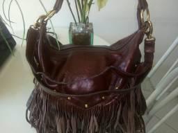 Bolsas em couro legítimo Queima de estoques
