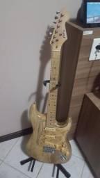 Guitarra montada