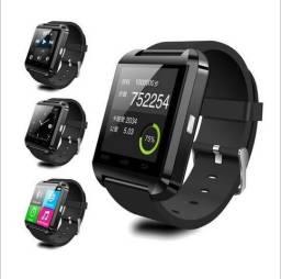 Relogio bluetooth smart u8 android e iphone lacrado