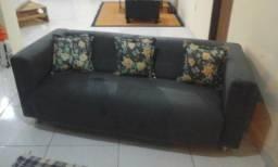Vendo Sofá novo 3 lugares 3 almofadas gratis