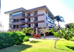 Alugo apartamento Mandara Lanai, 3 suítes, 2 vagas, projetado, mobiliado, Porto das Dunas