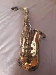 Saxofone Alto Shelter dourado
