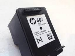 HP 662 black - Original - 1ª Recarga - 24 Reais