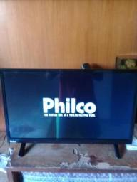 "Tv Led Philco 24"" Somente Venda"