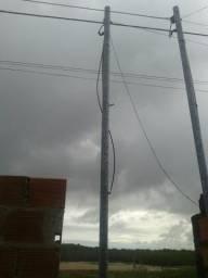 Vendo poste de energia 6 metros